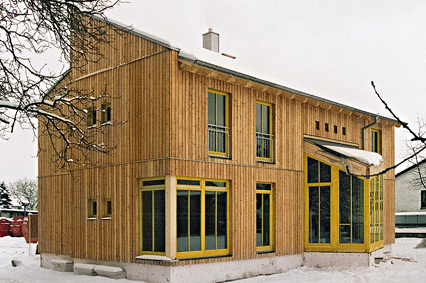 Holzbauhaus Okologisches Holzhaus Fertighaus